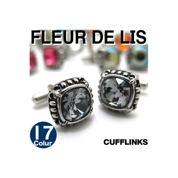 スワロフスキー フルードリスカフス (カフスボタン カフリンクス)|cufflink
