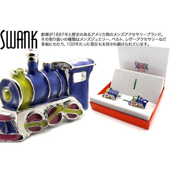 SWANK スワンク 蒸気機関車カフス (カフスボタン カフリンクス)|cufflink