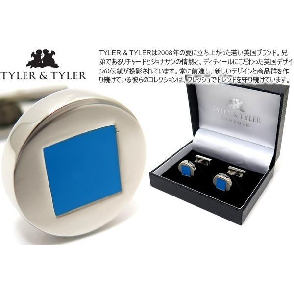 TYLER & TYLER タイラー&タイラー カプセルオーサーカフス(キーツスカイ) ブランド|cufflink