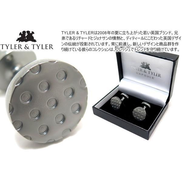 TYLER & TYLER タイラー&タイラー カプセルアイコンズカフス(ワットシルバー) ブランド|cufflink