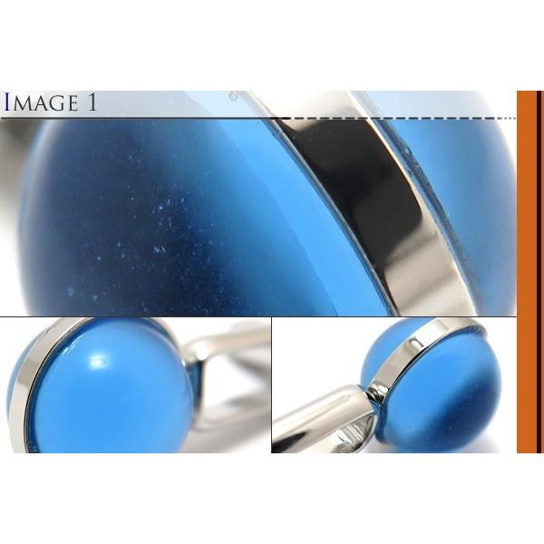 SIMON CARTER サイモン・カーター グラスグローブカフス(ブルー) (カフスボタン カフリンクス) cufflink 03