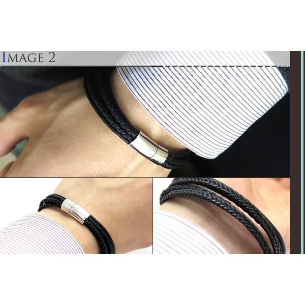 TATEOSSIAN タテオシアン シルバーコブラマルチブレスレット(ブラック) ブランド|cufflink|04