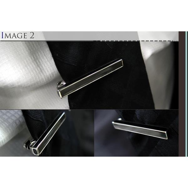 TATEOSSIAN タテオシアン アイスタブレットタイバー(ブラック) (タイピン タイクリップ) ブランド|cufflink|04