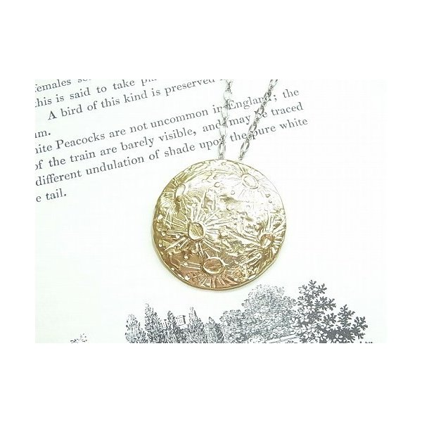 RoomClip商品情報 - ★ ゆうメール 送料無料 ★『 銀の縫い目 ネックレス 』【 Palnart Poc パルナートポック 】 月 ムーン 星 満月