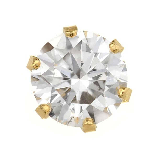 ピアス 18金 18k ダイヤモンド ダイヤ レディース  K18 ダイヤモンドピアス float 0.5ct