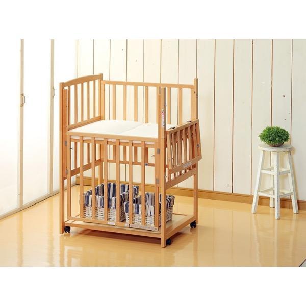 添い寝ベッド 新品レンタル2ヶ月:With 超小型90(マット別)日本製 cunabebe 03