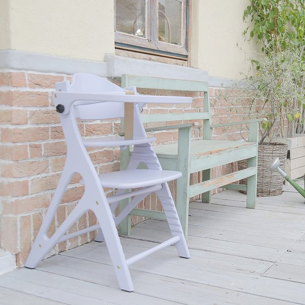 ベビーチェア ハイタイプ 長く使える 木製ハイチェア アッフル チェア テーブル付き|cunabebe|03