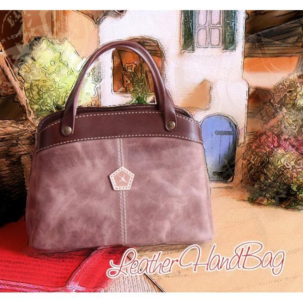 仕分け上手なレザー・ハンドバッグ(レザー・革製鞄)[Ain Soph/アインソフ/プレゼントにお勧め]【送料無料】|curicolle