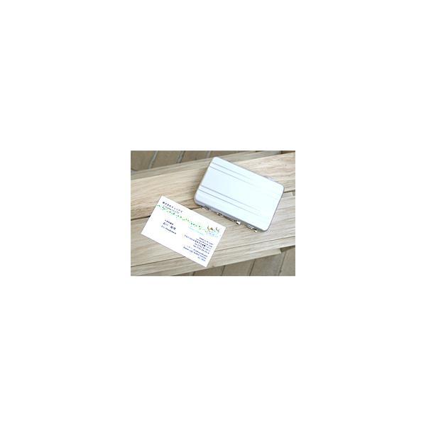 ☆3個まで郵送OK☆アルミアタッシュケースデザイン!カードケース(名刺入れ)♪カラー:シルバー(返品・交換・ギフト包装不可)|curicolle|05