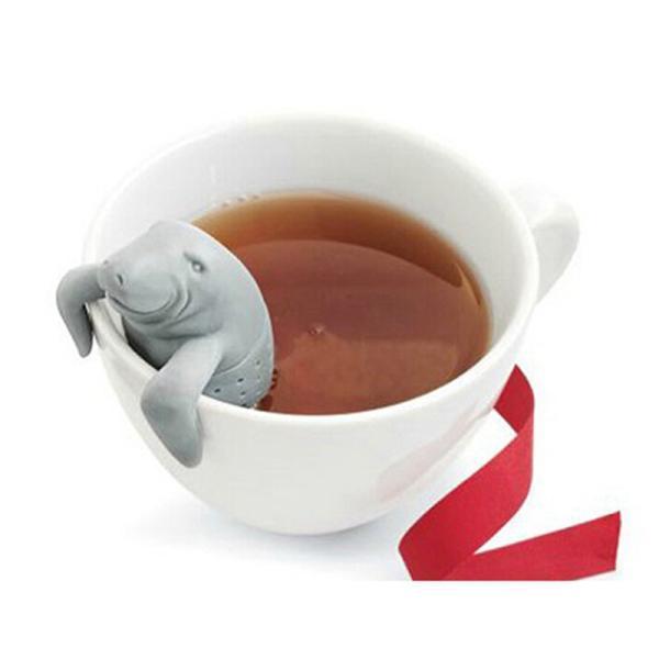 マナティー・ティーストレーナー [MANATEAのティーインフューザー/茶こし/茶漉し]※返品交換は承っておりません。|curicolle