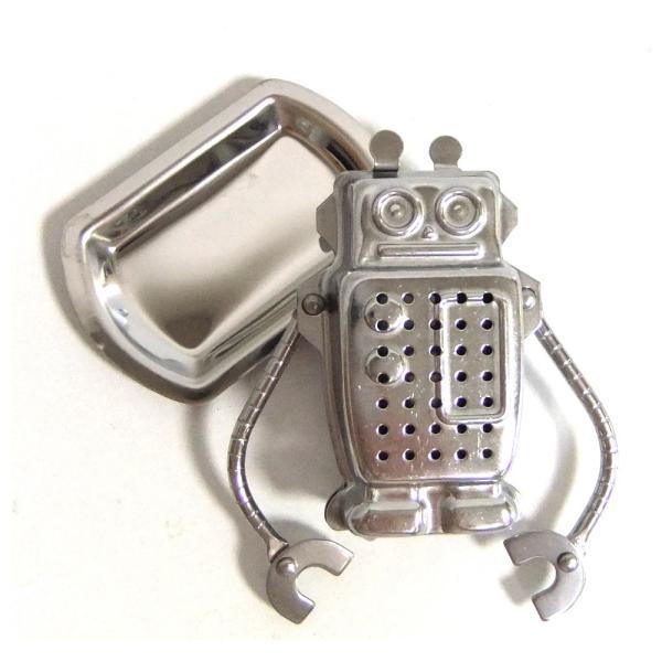 ロボット・ティーストレーナー[ROBOTのティーインフューザー/茶こし/茶漉し]※返品交換は承っておりません。|curicolle|02