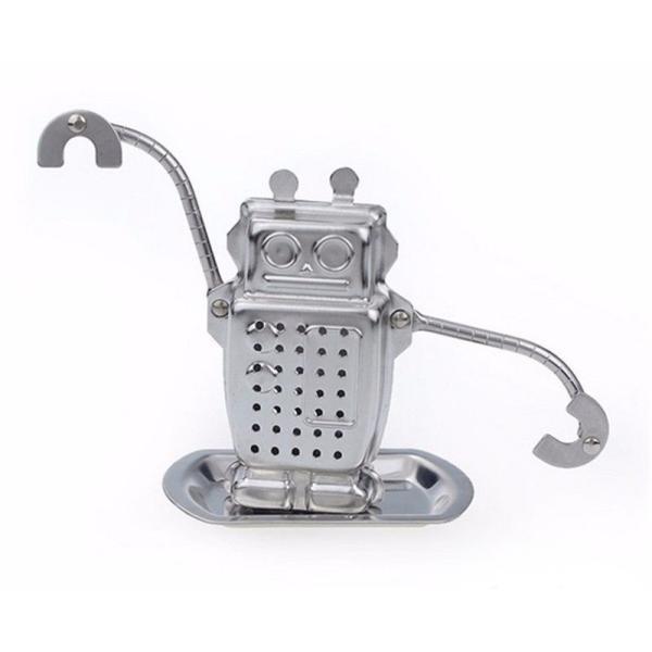 ロボット・ティーストレーナー[ROBOTのティーインフューザー/茶こし/茶漉し]※返品交換は承っておりません。|curicolle|03