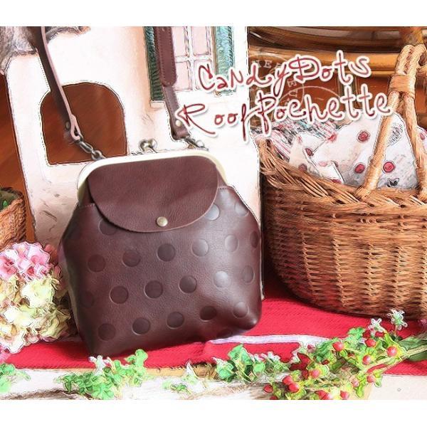 キャンディ・ルーフポシェット (本革製・ポシェット・レディース鞄/プレゼントにお勧め)[Kanmi./カンミ]【送料無料】|curicolle