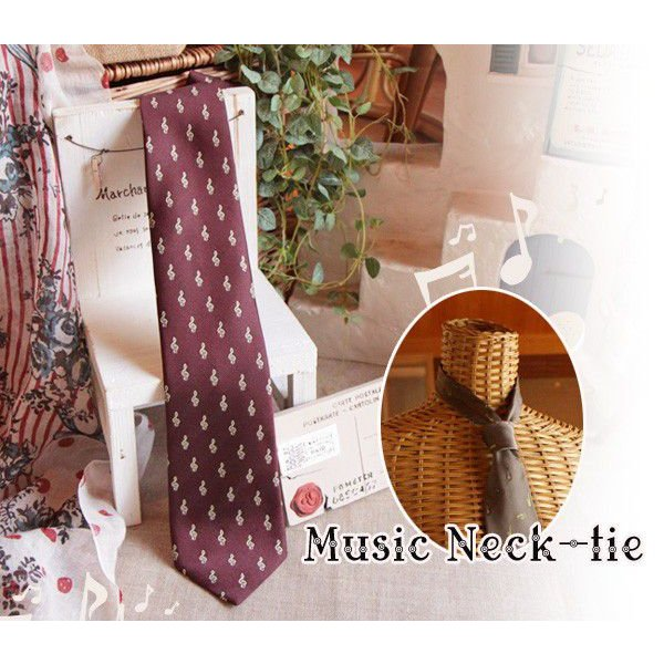 音楽ネクタイ|curicolle