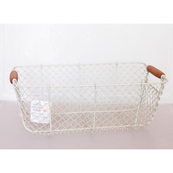 レトロバスケット・Lサイズ [キッチン用品/かご](返品・交換・ギフト包装不可)|curicolle
