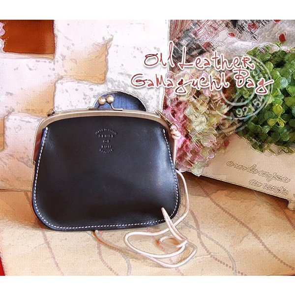 (SENSE OF FUN センスオブファン)ガマグチ ショルダーバッグ(sarai サライ レザー鞄 革製 プレゼントにおすすめ)(送料無料)|curicolle