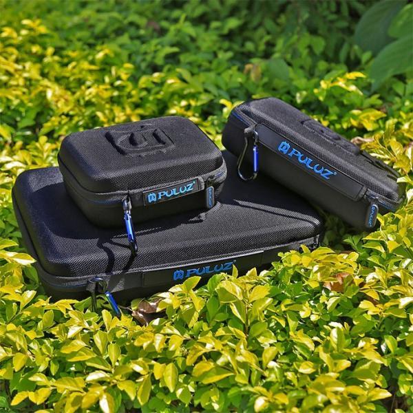 GoPro ケース Lサイズ 防水 キャリング コンパクト HERO アクションカメラ 収納 PULUZ