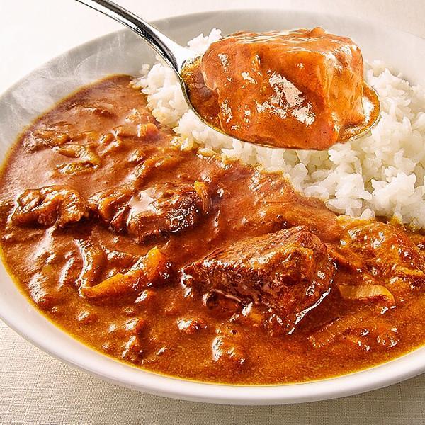 じっくり煮込んだ牛すじの旨みがたっぷりとろけた、ちょっとスパイシーなコク旨カレー!牛すじカレー専門店「戸紀屋」のこだわり牛すじカレー 3パックセット curry-tokiya