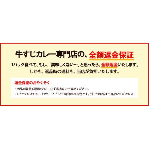 じっくり煮込んだ牛すじの旨みがたっぷりとろけた、ちょっとスパイシーなコク旨カレー!牛すじカレー専門店「戸紀屋」のこだわり牛すじカレー 3パックセット curry-tokiya 07