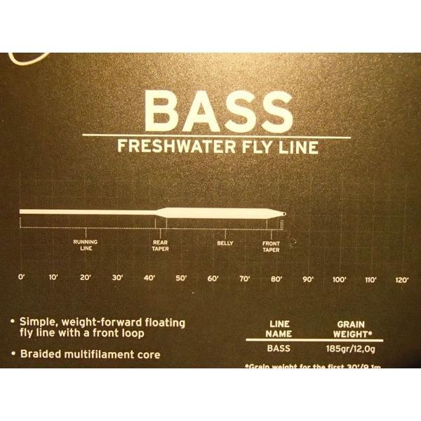 バスバグ用フライライン 3M エアセル バス AirCel Bass WF7/8F バスバグテーパー |curtiscreek|05
