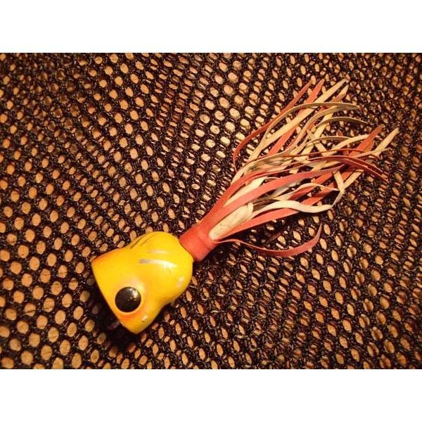 バスバグ アーボガスト フライロッド・フラポッパー レギュラーサイズ イエロー コルク製 オールド品 その2 |curtiscreek|02