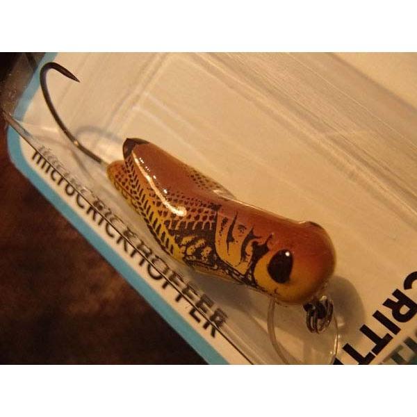 トラウト用プラグ レーベル マイクロクリックホッパー 約3cm カラー/イエローグラスホッパー 管釣り・渓流釣りに|curtiscreek
