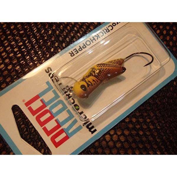 トラウト用プラグ レーベル マイクロクリックホッパー 約3cm カラー/イエローグラスホッパー 管釣り・渓流釣りに|curtiscreek|02