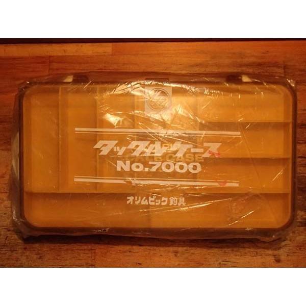 タックルボックス オリムピック ルアーボックス No.7000 ルアーやバスバグの収納に 未使用品!!|curtiscreek