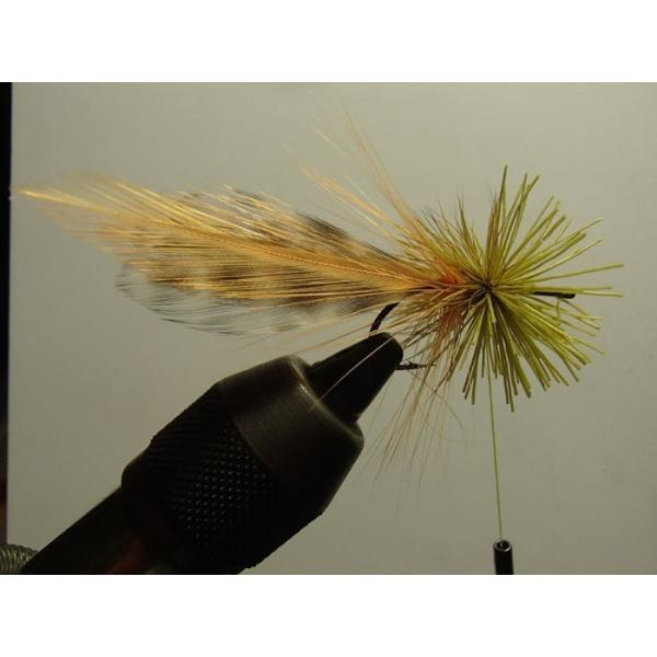 バスバグのタイイングDVD The Stacked Deer Hair Diver スーパーフライ 基礎編|curtiscreek|03