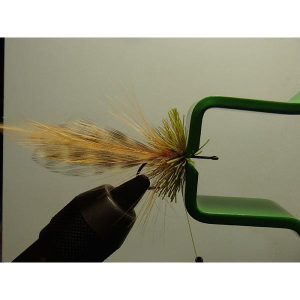 バスバグのタイイングDVD The Stacked Deer Hair Diver スーパーフライ 基礎編|curtiscreek|04