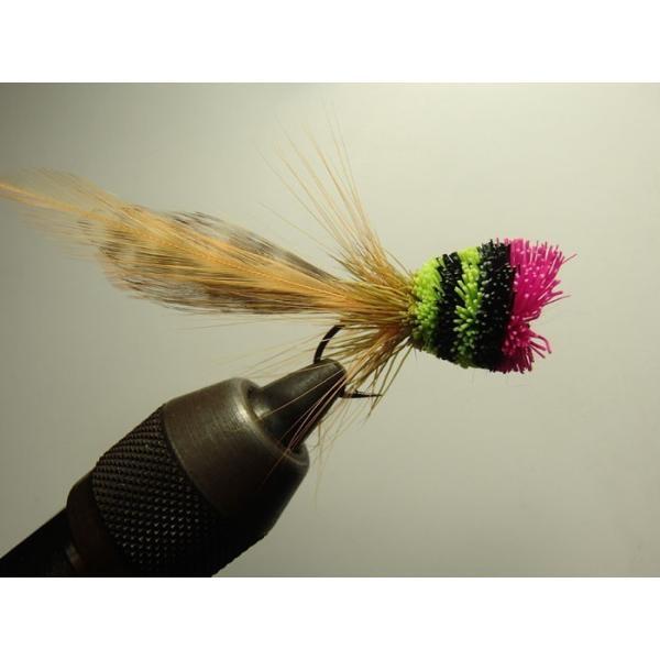 バスバグのタイイングDVD The Stacked Deer Hair Diver スーパーフライ 基礎編|curtiscreek|06