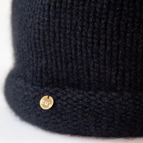 ふんわり極上のカシミヤ100%ニット帽キャップ 男女兼用 カラー:19色 ベーシック中厚タイプ|cus|05