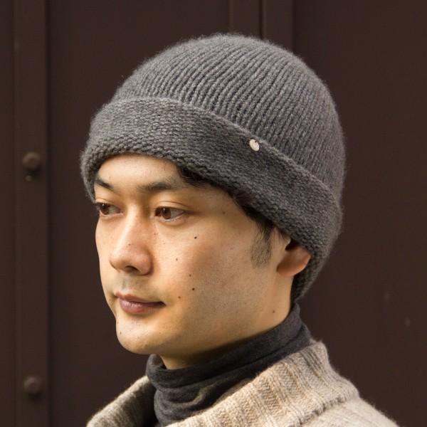 ふんわり極上のカシミヤ100%ニット帽キャップ 男女兼用 カラー:19色 ざっくり厚手タイプ|cus|03