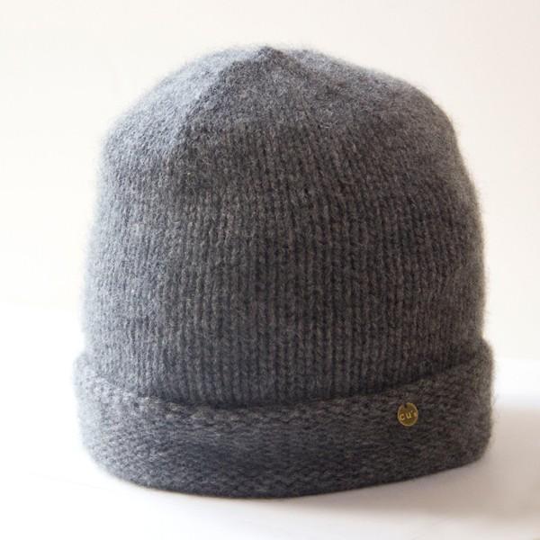 ふんわり極上のカシミヤ100%ニット帽キャップ 男女兼用 カラー:19色 ざっくり厚手タイプ|cus|04