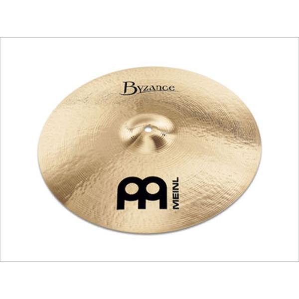 MEINL Cymbals マイネル Byzance Brilliant Series クラッシュシンバル 19 Medium Thin Crash B19MTC-B 【国内正規品】