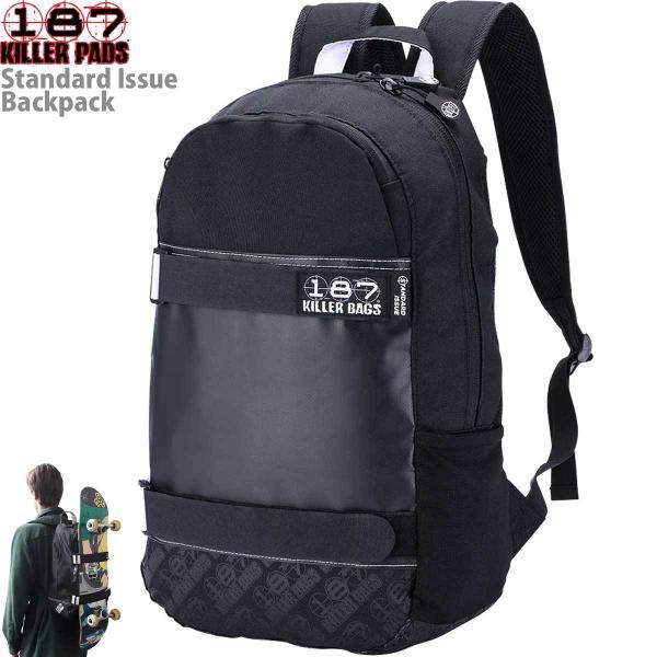 スケボー リュック 187 Killer Bags 20L Standard Issue Backpack キラーバッグ スタンダード イシュー バックパック スケートボード メンズ レディース キッズ