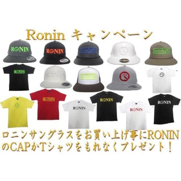 Ronin Eyewear ( ロニンアイウェアー ) 50/50 赤テンプルフレーム グレーポーラレンズ ( スケートボード スケボー サーフィン ステッカー サングラス ロニンアイ|cutback2|06