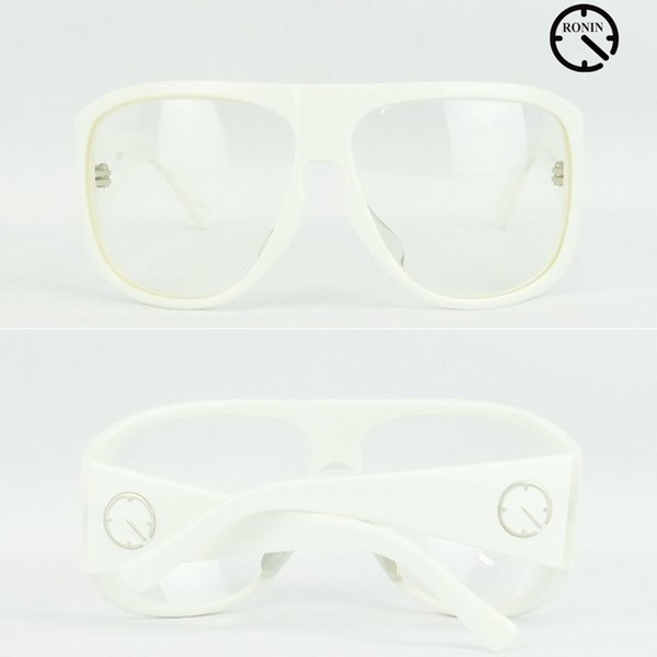ロニン サングラスRonin Eyewear ロニンアイウェアー UVカット Prototype O.T.W OFF THE WALL Shine White/Clear Lens|cutback2|03
