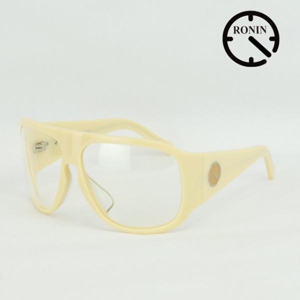 ロニン サングラスRonin Eyewear ロニンアイウェアー UVカット Prototype O.T.W OFF THE WALL Cream/Clear Lens|cutback2