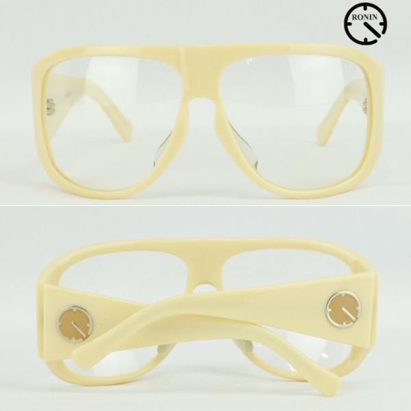 ロニン サングラスRonin Eyewear ロニンアイウェアー UVカット Prototype O.T.W OFF THE WALL Cream/Clear Lens|cutback2|03