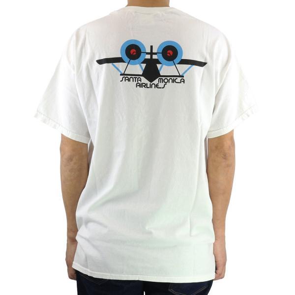 SANTAMONICA AIRLINES サンタモニカ エアライン Tシャツ 半袖 メンズ SMA Classic Plane Tee