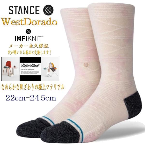 スタンスソックス靴下レディースキッズ子供S22-24.5cmBoydSTインフィニットStanceSocksWestDorado