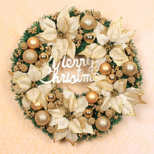全品2枚で送料無料クリスマスリース ドア飾り クリスマス飾り 大きい