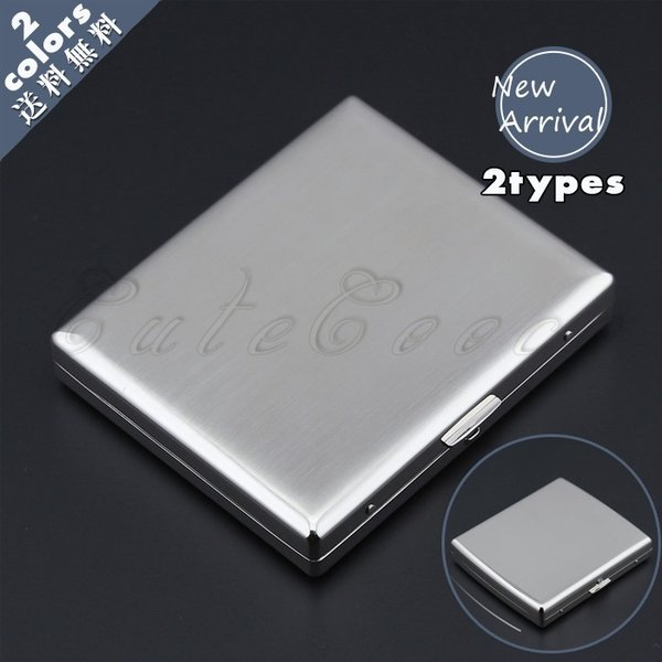 タバコケース メタル メンズ アルミ シガレットケース 20本収納 ポーチ タバコ入れ 軽量 小物 カバー ビジネス 父の日 ギフト プレゼント おしゃれ 送料無料