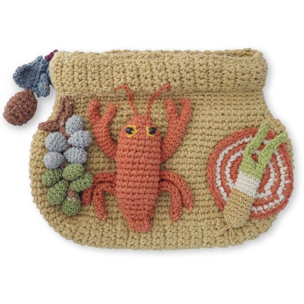 かぎ針 編み 小物 入れ