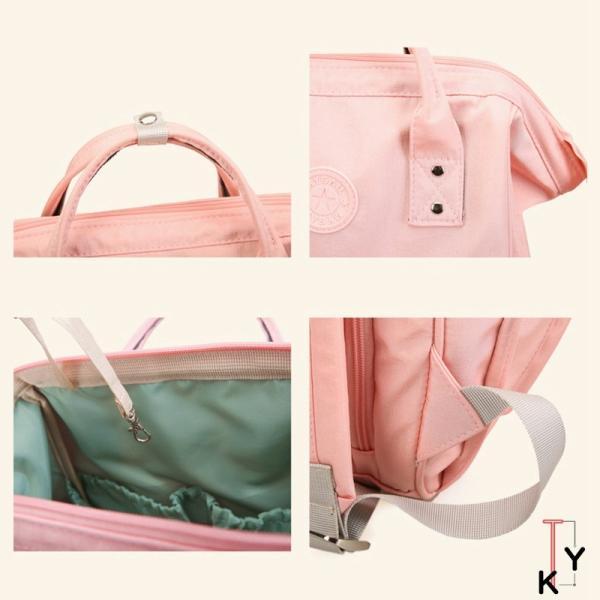マザーズバッグ リュック 大容量 軽量 ママバッグ 保温哺乳瓶ケース付 USBポート付/大容量マザーズバッグ