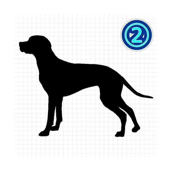 イングリッシュポインター 犬 シルエット ステッカー プレゼント付|cuttingsoul|03