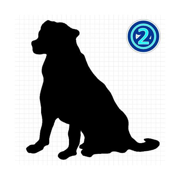 バーニーズマウンテンドッグ 犬 シルエット ステッカー プレゼント付 cuttingsoul 03