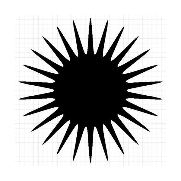ムラサキウニ ステッカー|cuttingsoul|02