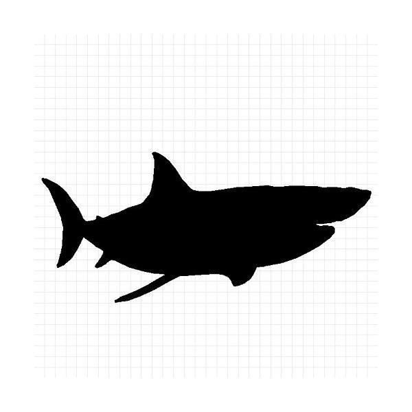 サメ ステッカー|cuttingsoul|02